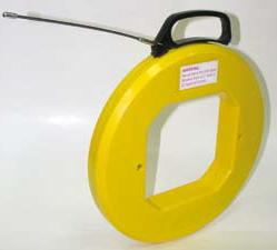 fiberglass fish tape for pulling wires in live areas